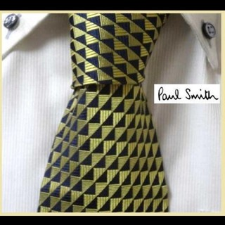 ポールスミス(Paul Smith)のほぼ新品★ポールスミス★ゴールド金色×★高級ネクタイ★圧倒的高級感★(ネクタイ)