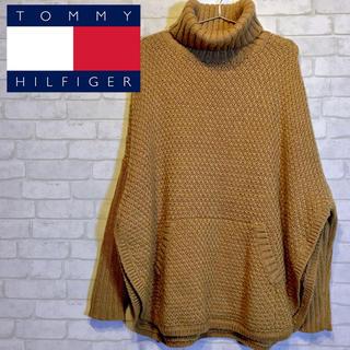 トミーヒルフィガー(TOMMY HILFIGER)の【TOMMY HILFIGER】ニット セーター ポンチョ☆M〜Lサイズ☆(ニット/セーター)
