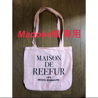 メゾンドリーファー(Maison de Reefur)のmaisondereefur ピンク エコバッグ メゾンドリーファー エコバック(エコバッグ)