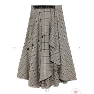 FRAY I.D - frayid チェックツィードスカート