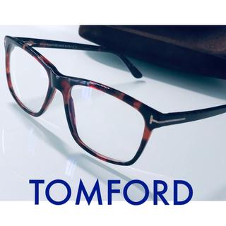 TOM FORD - トムフォード べっ甲 ブルーライトカット メガネ