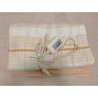 ヤマゼン(山善)の広電 電気敷毛布 大きいタイプ(電気毛布)
