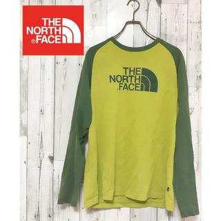 THE NORTH FACE - 【THE NORTH FACE】長袖 ロングTシャツ ロンT 緑 L