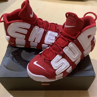 シュプリーム(Supreme)のSupreme/Nike Air more uptempo 27.5cm(スニーカー)