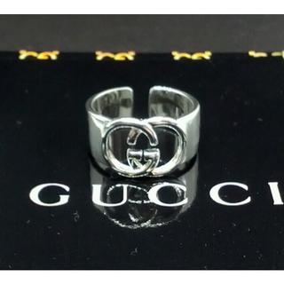Gucci - 新品 サイズ調節可能 Gucci グッチシルバーノベルティリング