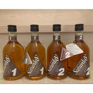 キリン - キリンシーグラムのサタデー1・2の4本セット (各2本ずつ) 特級ウィスキー