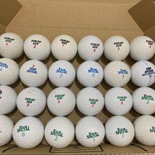 ダンロップ(DUNLOP)のゴルフボール ロストボール DUNLOP DDH 24球 322(その他)
