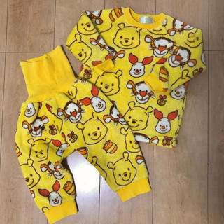Disney - プーさんもこもこパジャマ♪80