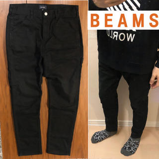 ビームス(BEAMS)のBEAMS黒パンツワークパンツメンズ送料込(ワークパンツ/カーゴパンツ)