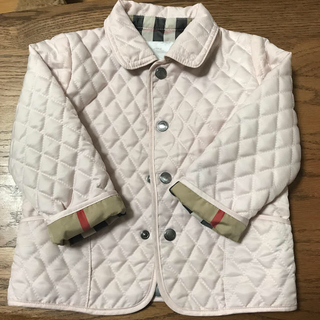 BURBERRY - バーバリー チルドレン キルティングジャケット