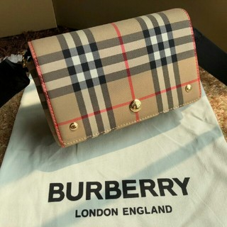 BURBERRY - burberry バーバリ ショルダーバッグ