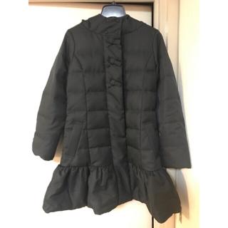 クチュールブローチ(Couture Brooch)のクチュールブローチ リボンが可愛いペプラムダウンコート38 特別値下げ(ダウンコート)