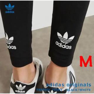 adidas - アディダスオリジナルス トレフォイル レギンス ブラック M