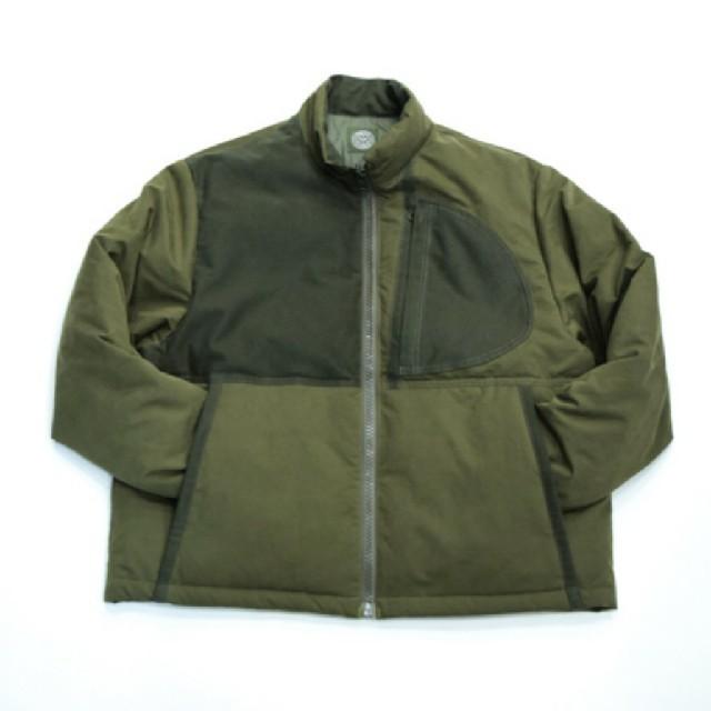 COMOLI(コモリ)のporter classic weather down jacket olive メンズのジャケット/アウター(ダウンジャケット)の商品写真
