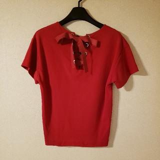 UNITED ARROWS - ユナイテッドアローズ 赤ティーシャツ