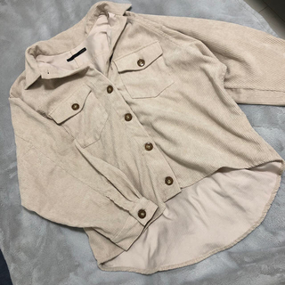 heather - フトコーデュロイシャツ