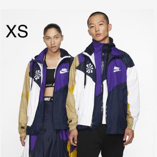 サカイ(sacai)のXSサイズ NIKE × sacai フーデッド アノラック(ナイロンジャケット)