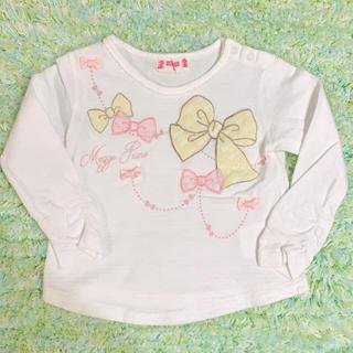メゾピアノ(mezzo piano)の☆ メゾピアノ 長袖 Tシャツ 80 ☆(Tシャツ)