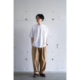 COMOLI - Graphpaper 19ss two tuck chino pant
