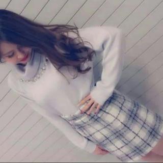 one*way - ワンウェイチェックタイトスカート
