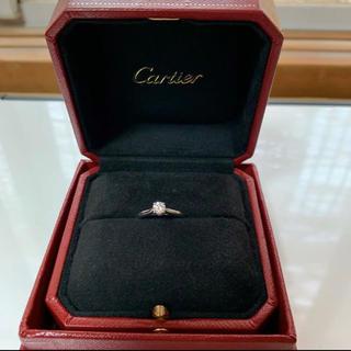 カルティエ(Cartier)のカルティエ 1985ソリテールリング ダイヤモンド 婚約指輪 Cartier(リング(指輪))