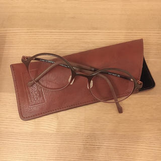 ゾフ(Zoff)のZoff 度なし眼鏡 美品(サングラス/メガネ)