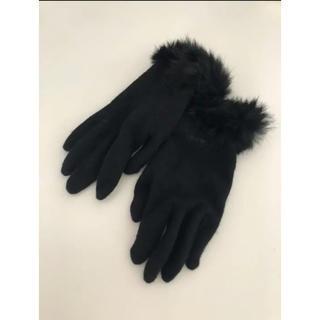 BURBERRY - バーバリー ファー手袋
