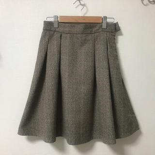 MIIA - MIIA フレアミニスカート 冬素材