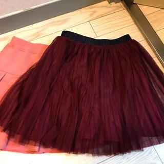 UNIQLO - 中古  スカート2種類 ユニクロ  130cm 女の子