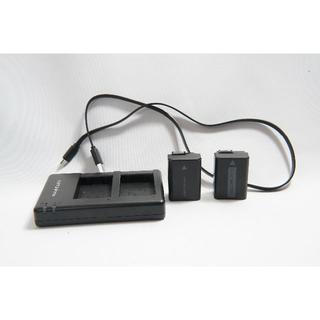 送料無料 SONY用NP-FW50の「互換バッテリー2個」 と「互換充電器」