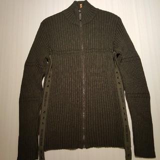 モスキーノ(MOSCHINO)のMOSCHINO ジップアップ セーター(ニット/セーター)