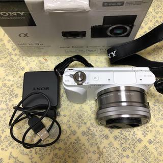 SONY - SONY NEX-3N E PZ 16-50mm F3.5-5.6ホワイト 美品