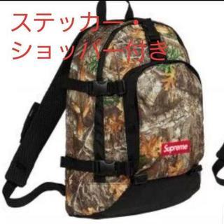 Supreme 19fw backpack treecamo ツリーカモ柄バッグ(バッグパック/リュック)