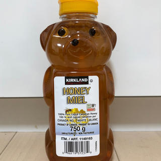 コストコ(コストコ)のコストコ ハニーベア はちみつ 750g(調味料)