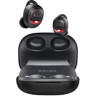 [2019進化版 HiFi高音質] Bluetooth5.0 黑赤 ケース(ポータブルプレーヤー)