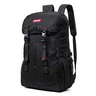 ブラックタテ55cmxヨコ32cmxマチ22cm登山バッグ ショルダーバッグ 5(登山用品)