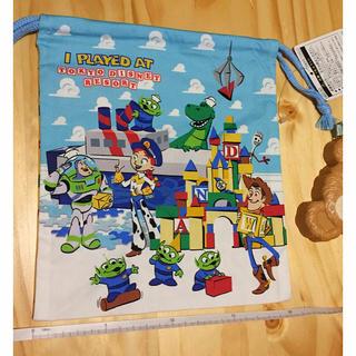 トイストーリー(トイ・ストーリー)のトイストーリー 巾着 新品未使用 ディズニーランド きんちゃく袋 (その他)