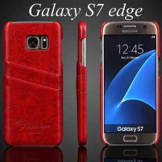5 ★ GALAXY s7 edge用 レザー ケース カバー ★(Androidケース)