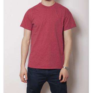 GILDAN 6.0オンス ウルトラコットン 無地Tシャツ ヘザーレッド(Tシャツ/カットソー(半袖/袖なし))