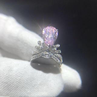 【Sona】可愛いピンク Sona リング(リング(指輪))