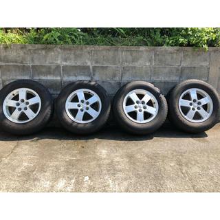 ミツビシ(三菱)の三菱デリカD5  純正 タイヤ&ホイール 16インチ (タイヤ・ホイールセット)