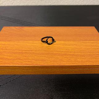 ピンキーリング ブラック(リング(指輪))