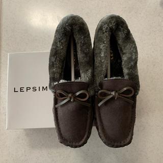 LEPSIM - LEPSIM ボアシューズ