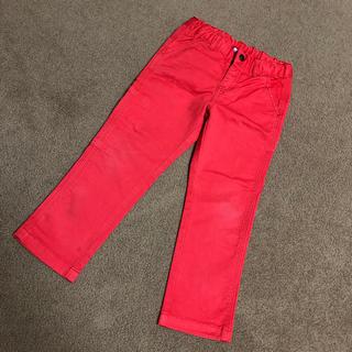 プチバトー(PETIT BATEAU)のプチバトー パンツ 赤(パンツ/スパッツ)