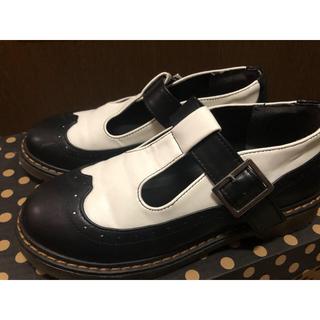 ダブルクローゼット(w closet)のwクローゼット  ストラップシューズ  革靴(ローファー/革靴)