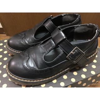 ダブルクローゼット(w closet)のW closet  ストラップシューズ  革靴(ローファー/革靴)