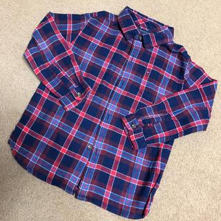 TOMMY HILFIGER - トミーヒルフィガー ネイビー、赤チェックシャツ