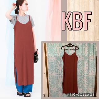 KBF - KBF リブワンピース