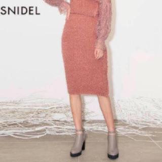 スナイデル(snidel)のsnidel スカート(ひざ丈スカート)