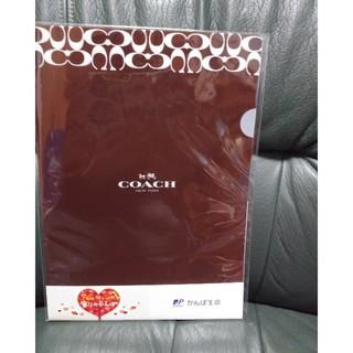 コーチ(COACH)のCOACH クリアファイル 1セット3枚入り(クリアファイル)